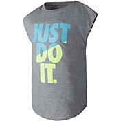 Nike Little Girls' Just Do It Modern T-Shirt