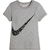 Nike Girls' Dry Photogram Swoosh Training T-Shirt