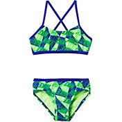 Nike Girls' Graphic Crossback 2-Piece Bikini