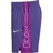 Nike Girls' Dry Elite Stripe Basketball Shorts