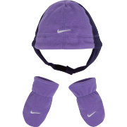 Nike Infant Girls' Polar Fleece Hat and Gloves Set