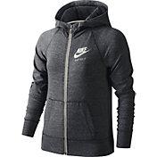 Nike Girls' Gym Vintage Full Zip Hoodie