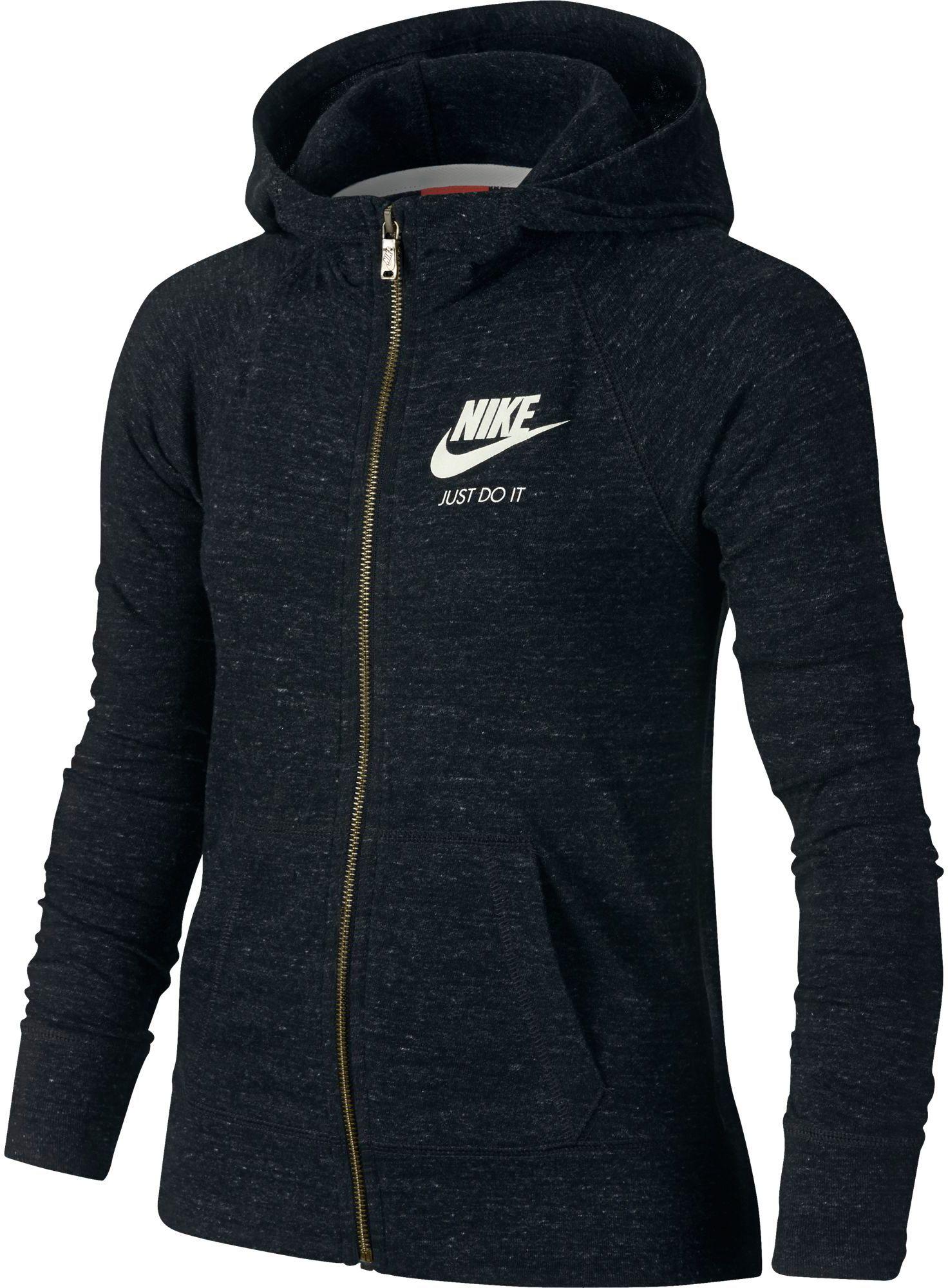 Nike Girls' Gym Vintage Full Zip Hoodie | DICK'S Sporting Goods