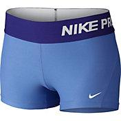 Nike Girls' 3'' Pro Cool Shorts