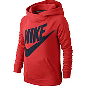 Nike Girls' Rally Funnel Neck Graphic Hoodie
