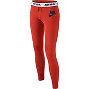 Nike Girls' Rally Tight Graphic Pants