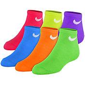 Nike Girls' Low Cut Socks 6 Pack