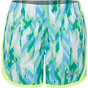 Nike Little Girls' Tempo Dry All-Over Print Shorts