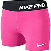 Nike Girls' Pro Core Compression Shorts
