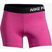 Nike Girls' 4'' Pro Cool Shorts
