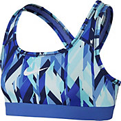 Nike Girls' Pro Geoprism Printed Sports Bra