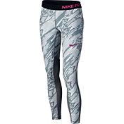 Nike Girls' Pro Cool Printed Tights