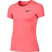 Nike Girls' Pro Cool T-Shirt