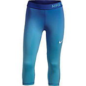 Nike Girls' Pro Gradient Printed Capris