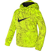 Nike Toddler Boys' All Over Print Therma-FIT Hoodie