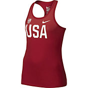 Nike Girls' Team USA USOC Logo Graphic Tank Top