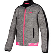 Nike Little Girls' Sport Essentials Heathered Full Zip Jacket