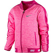 Nike Little Girls' Sport Essentials Heathered Full Zip Jacket