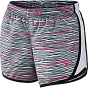 Nike Girls' Printed 1 Tempo Running Shorts