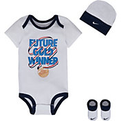 Nike Newborn Future Gold Winner Bodysuit Set