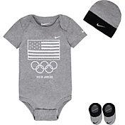 Nike Newborn USA Flag Bodysuit Set