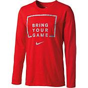 Nike Men's Bring Your Game Long Sleeve Basketball Shirt
