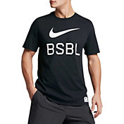 Nike Men's Dry Swoosh 1.6 Graphic Baseball T-Shirt