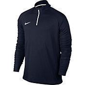 Nike Men's Dry Academy Drill Long Sleeve Quarter Zip Soccer Shirt