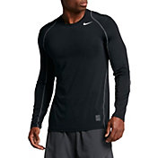 Nike Men's Pro Cool Fitted Long Sleeve Shirt