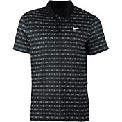 Nike Men's Court Sphere Striped Tennis Polo