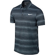 Nike Men's Sphere Court Striped Tennis Polo