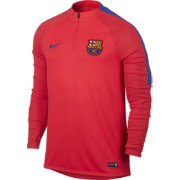 Nike Men's Barcelona Coral Quarter Zip Drill Top