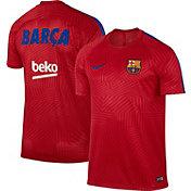 Nike Men's Barcelona Red Prematch Training Top