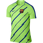 Nike Men's Barcelona Ghost Green Training Top
