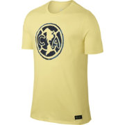 Nike Men's Club America Yellow Crest T-Shirt