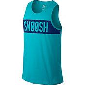 Nike Men's Dri-FIT Cotton Swoosh Block Graphic Sleeveless Shirt