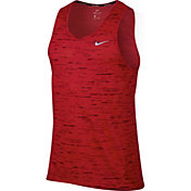 Nike Men's Dry Tailwind Sleeveless Printed Running Shirt
