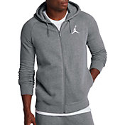 Jordan Men's Flight Full Zip Fleece Basketball Hoodie