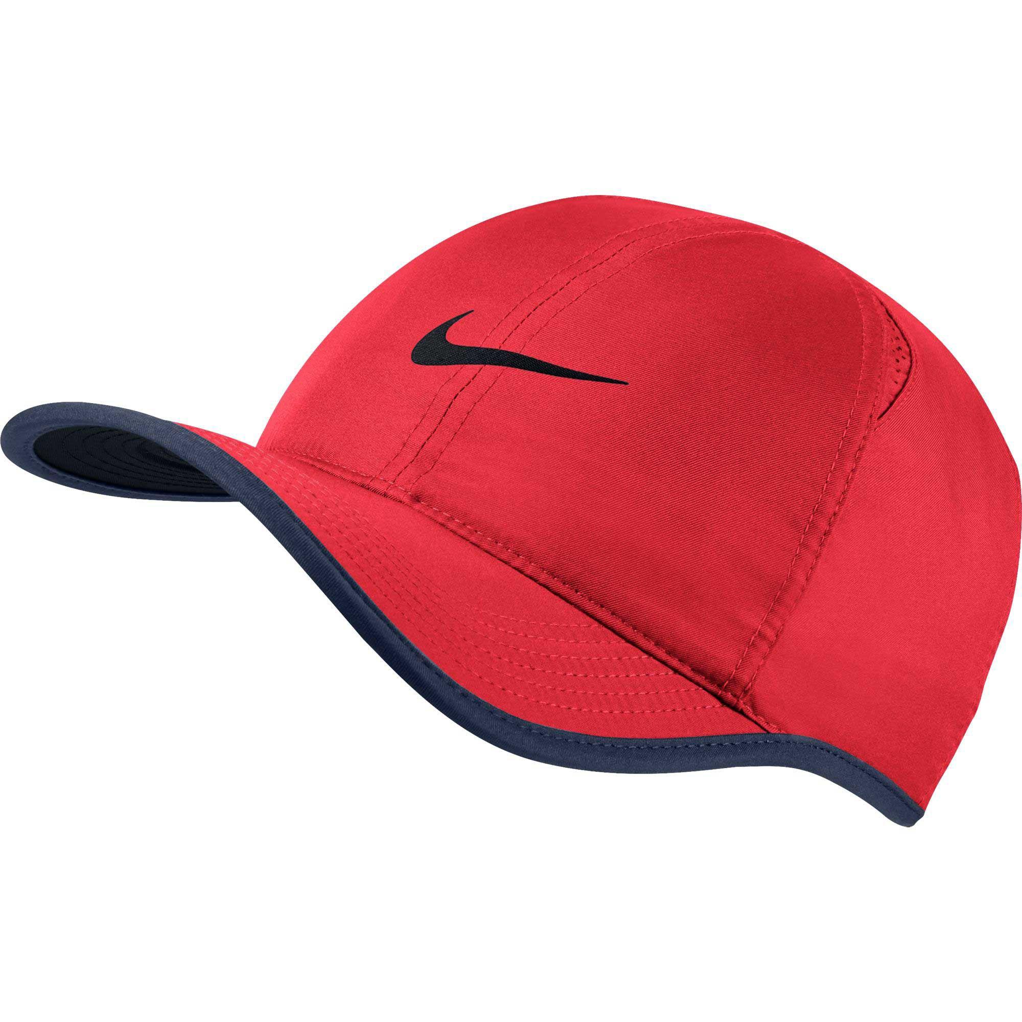 orange nike runners cap