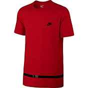 Nike Men's Sportswear High Gloss Stripe Basketball T-Shirt