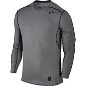 Nike Men's Pro Hypercool Fitted Crew Long Sleeve Shirt
