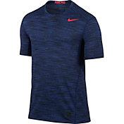 Nike Men's Pro Hypercool Fitted Space Dye T-Shirt