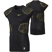 Nike Men's Pro Hyperstrong Camo 4-Pad Football Shirt