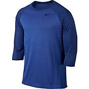 Nike Men's Legend Raglan Three Quarter Length Sleeve Shirt