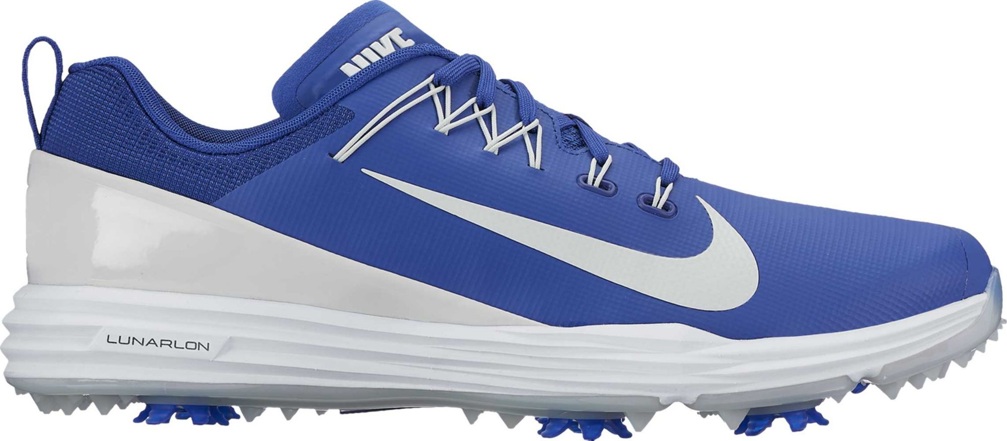 nike lunar golf shoes blue
