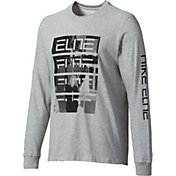 Nike Men's Dry Elite Dunkivert Long Sleeve Basketball Shirt