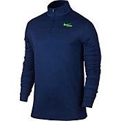 Nike Men's Lightweight Dri-FIT Quarter Zip Long Sleeve Lacrosse Shirt