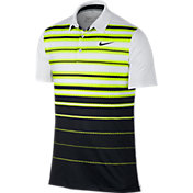 Nike Men's Mobility Fade Stripe Golf Polo