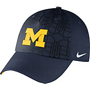 Nike Men's Michigan Wolverines Blue Heritage86 Seasonal Benassi Hook Hat