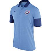 Nike Men's Toronto Blue Jays Dri-FIT Light Blue Polo